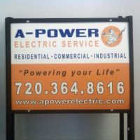 Denver Signs: John Oxford - APower Electric Service